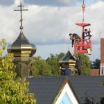 PA130017 150x150 Освящение крестов на куполах