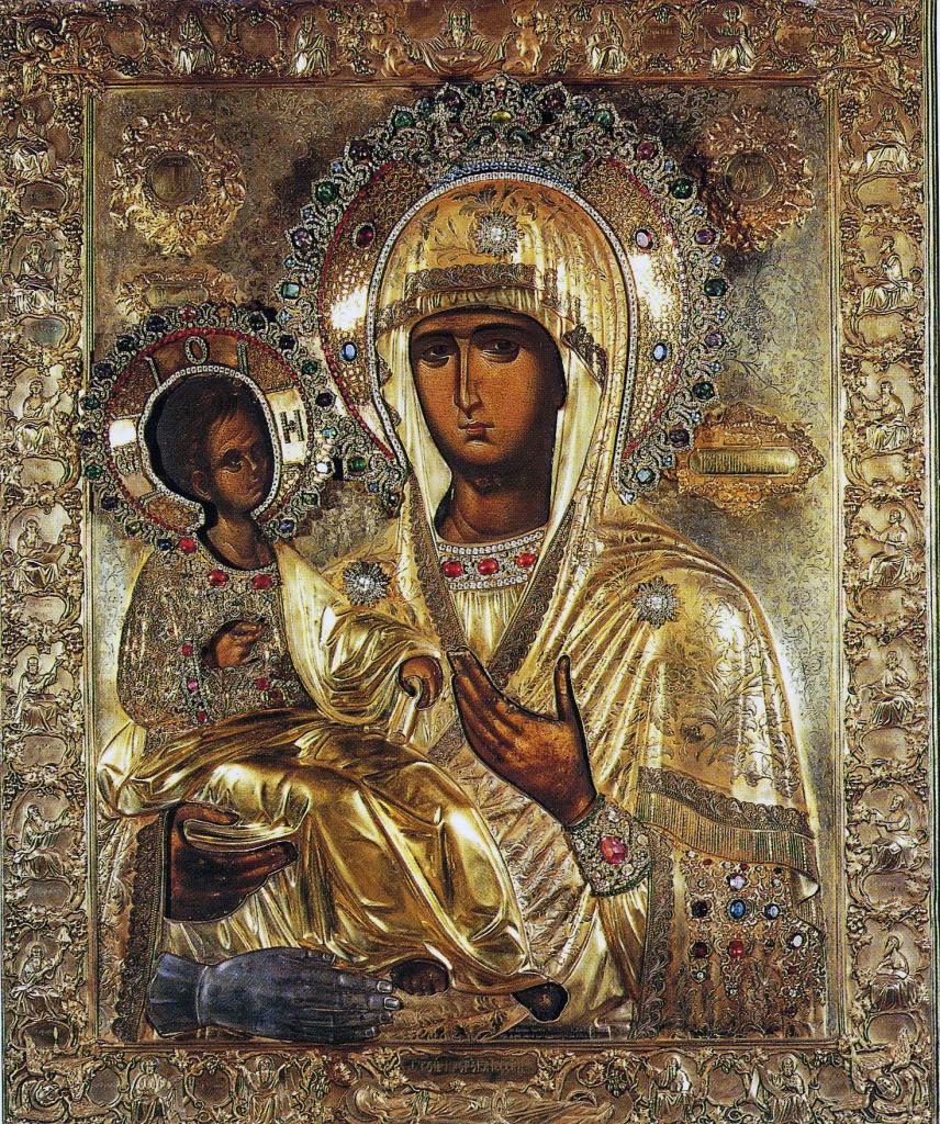 старорусская икона божией матери: