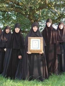 Монахини православного монастыря во имя преподобномученицы Елисаветы Феодоровны, Бухендорф